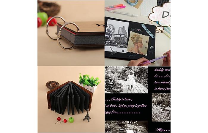 स्क्रैपबुक फोटो एलबम
