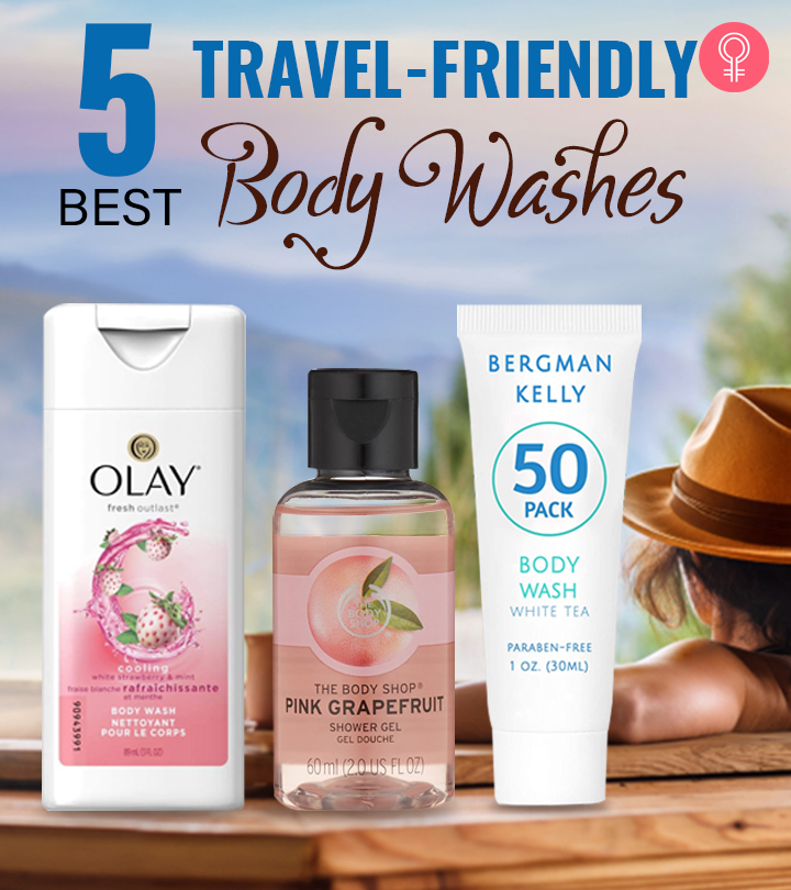 5 Best Travel-Friendly Body Washes Of 2021
