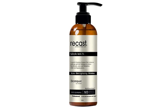 Recast Salicylic Acid 2% Dermipure Face Cleanser
