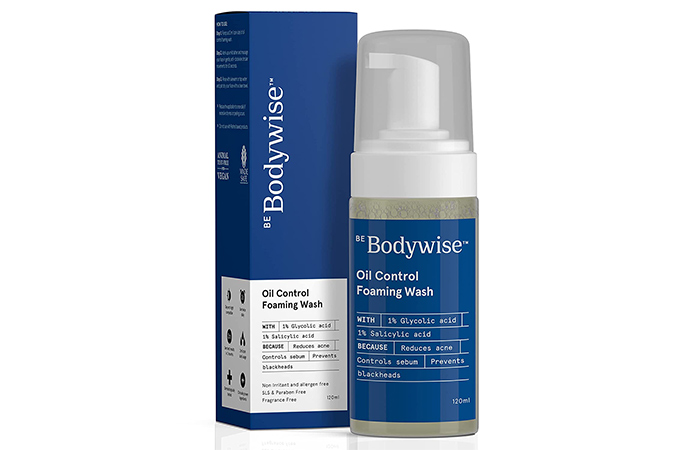 Be Bodywise Oil Control Foaming Wash