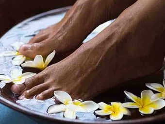 6 Easy Homemade Foot Soaks For Exfoliation, Relaxation, And Rejuvenation