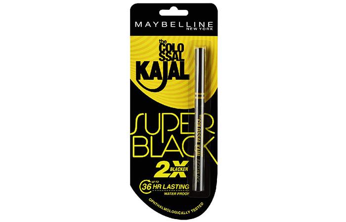 Maybelline New York The Colossal Kajal - Super Black