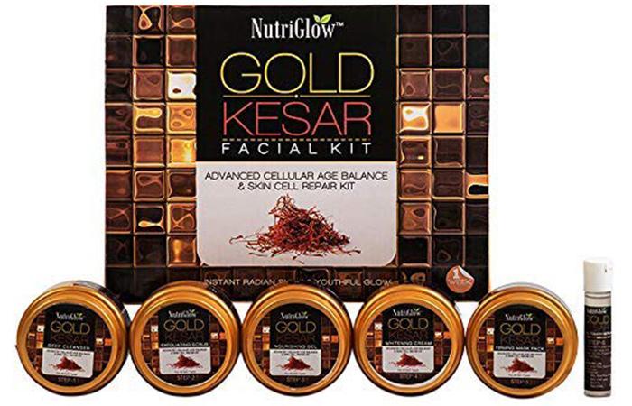 NutriGlow Gold Kesar Facial Kit