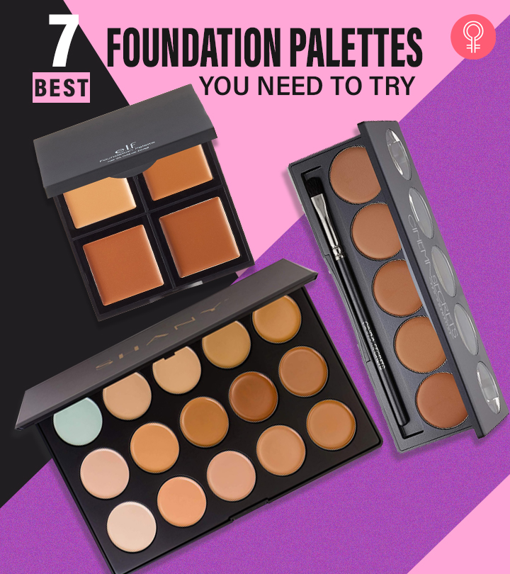 7 Best Foundation Palettes You Need To Try In 2021