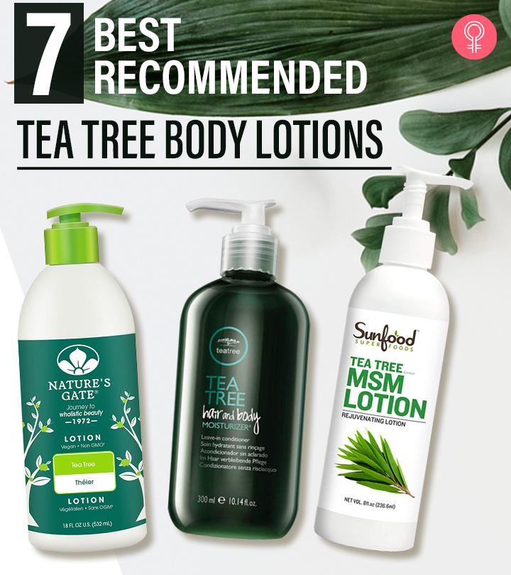 7 Best-Selling Tea Tree Body Lotions Of 2021