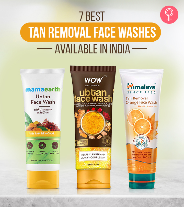 7 Best Tan Removal Face Washes Available In India