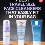 7 Best Travel Size Face Cleansers That Easily Fit In Your Bag