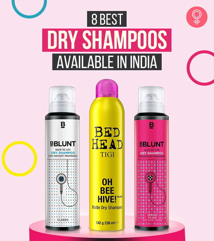 8 Best Dry Shampoos Available In India – 2021
