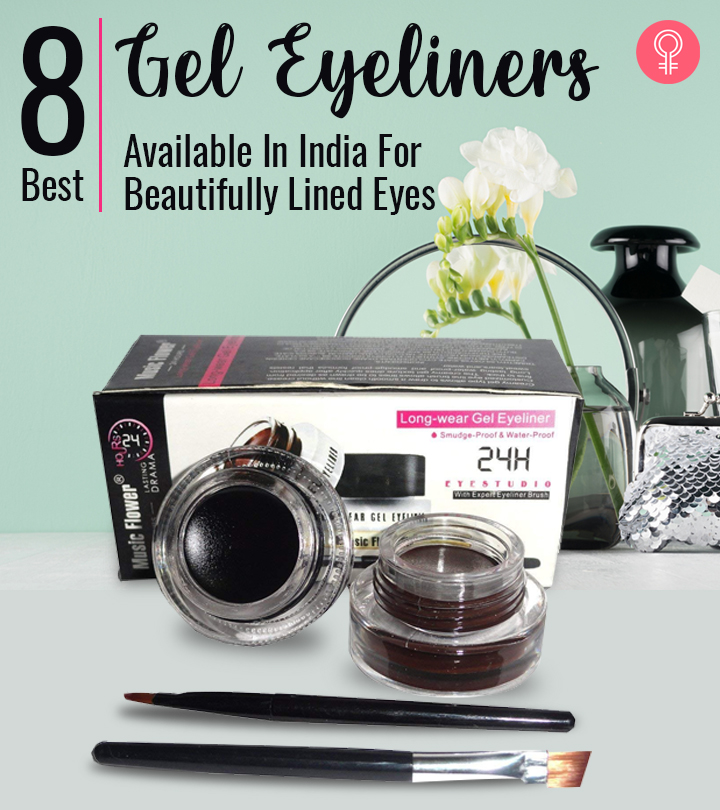 8 Best Gel Eyeliners Available In India For Beautifully Lined Eyes