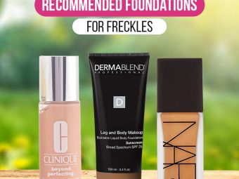 8 Best Recommended Foundations For Freckles