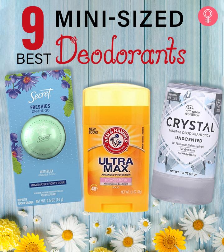 9 Best Mini-Sized Deodorants Of 2021