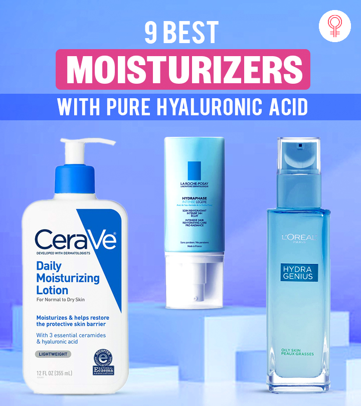 9 Best Moisturizers With Pure Hyaluronic Acid