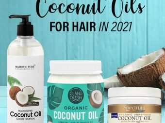 9 Best Pure Coconut Oils For Hair In 2021
