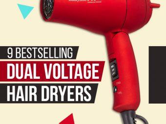 9 Bestselling Dual Voltage Hair Dryers