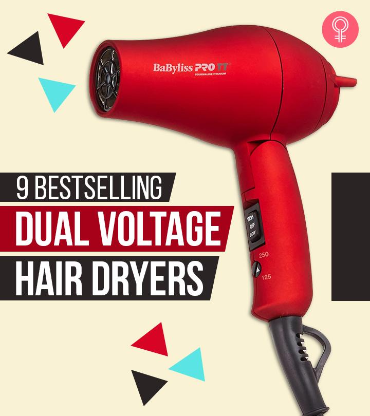 9 Bestselling Dual Voltage Hair Dryers Of 2021