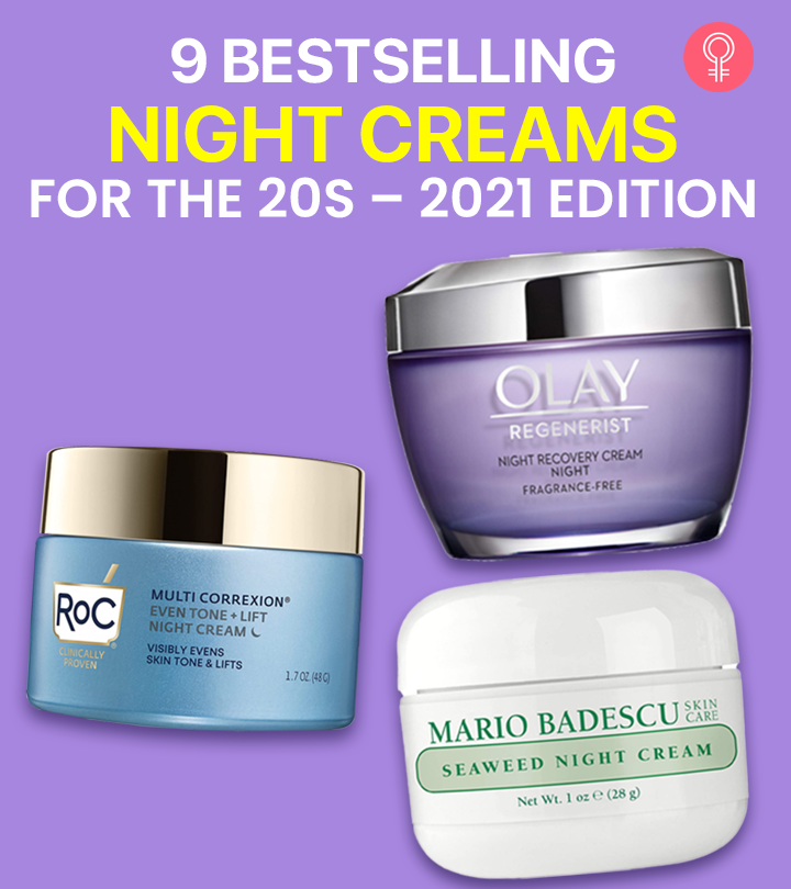 9 Bestselling Night Creams For The 20s – 2021 Edition