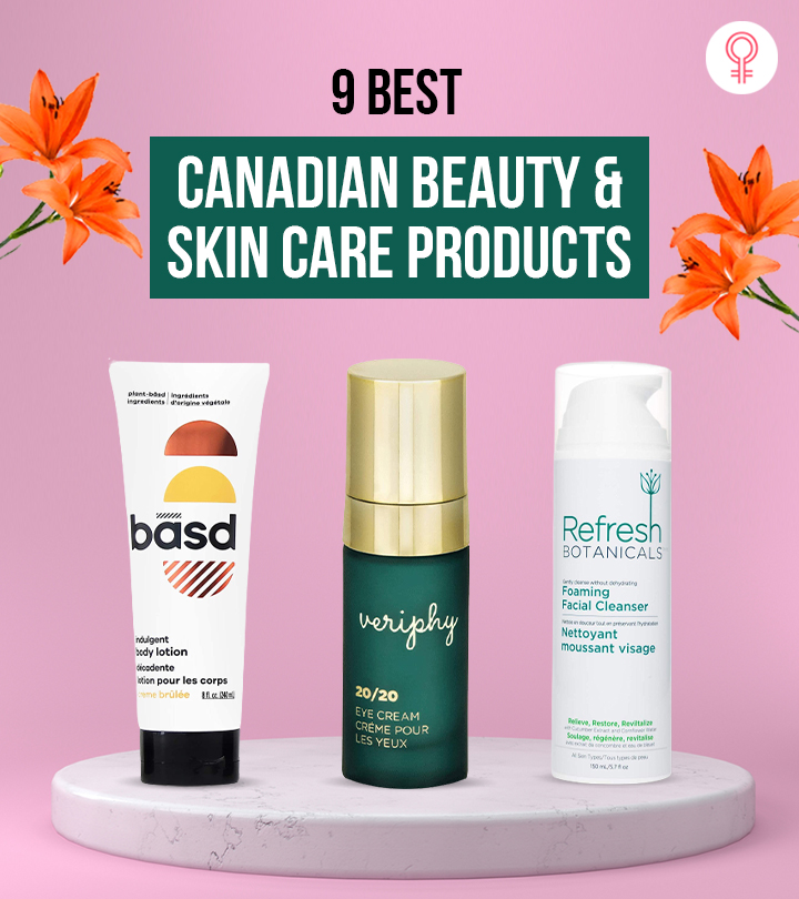 9 Best Canadian Cosmetic And Skin Care Brands And Products