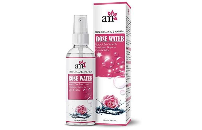 Aroma Musk 100% Organic Premium Rose Water