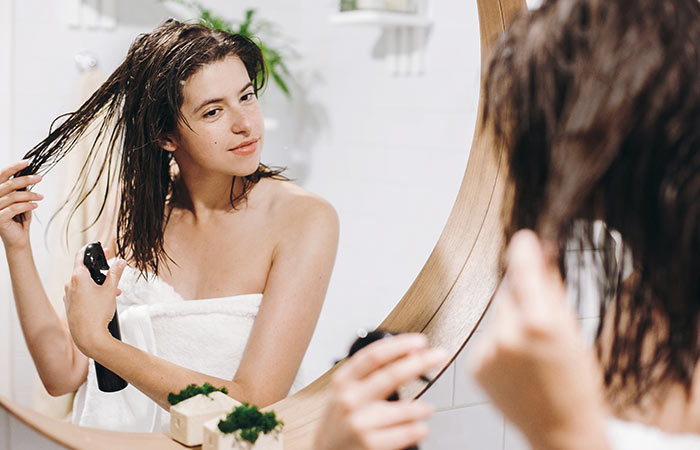 Avoid Using Heavy Styling Creams Or Products