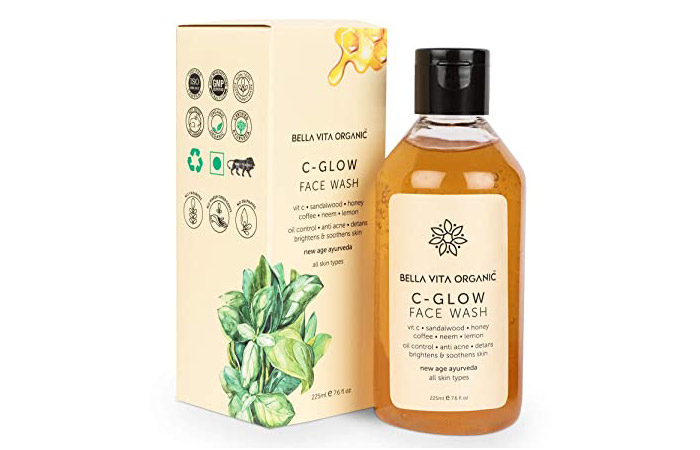 Bella Vita Organic C-Glow Face Wash