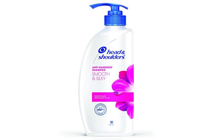 Head & Shoulders Smooth And Silky Anti-Dandruff Shampoo