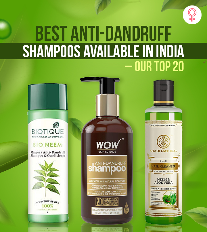 Best Anti-Dandruff Shampoos Available In India – Our Top 20