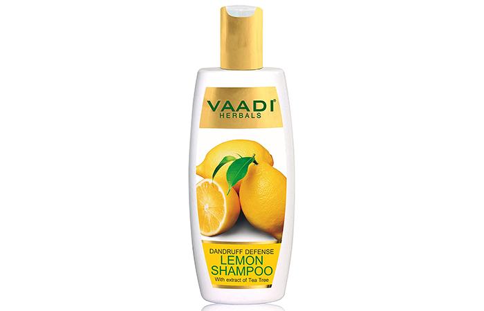 Vaadi Herbals Dandruff Defense Lemon Shampoo