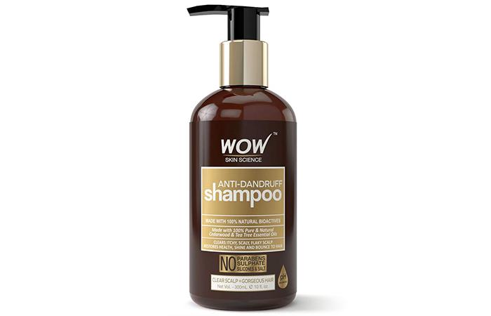 Wow Skin Science Anti-Dandruff Shampoo