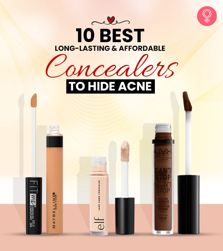 10 Best Long-Lasting And Affordable Concealers To Hide Acne