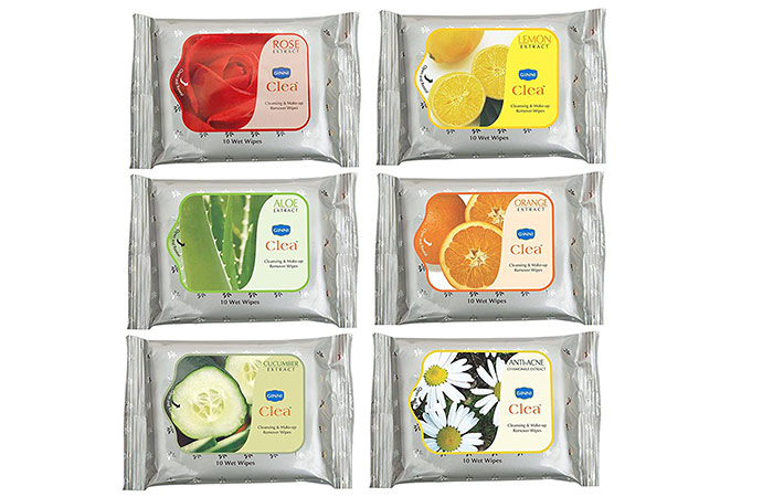 GINNI CLEA Cleansing And Makeup Remover Wipes