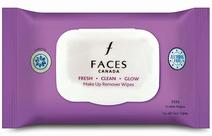FACES CANADA Makeup Remover Wipes
