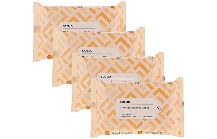 Solimo Makeup Removal Wipes