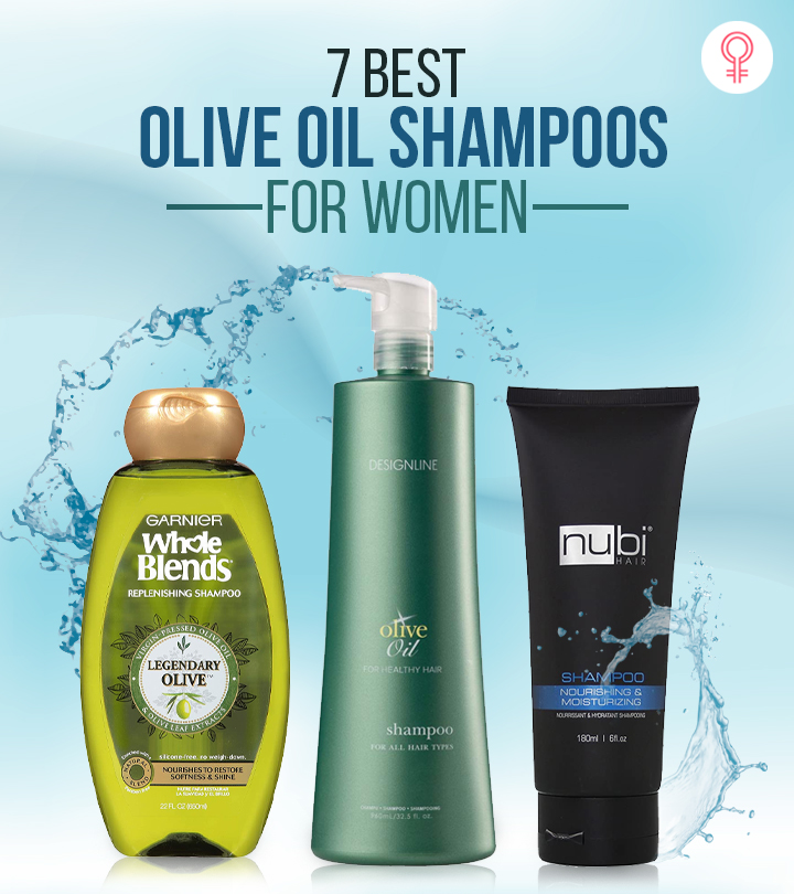 7 Best Olive Oil Shampoos For Women – 2021 Update
