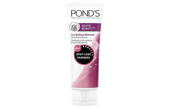 Pond's White Beauty Sun Dullness Removal Daily Facial Scrub