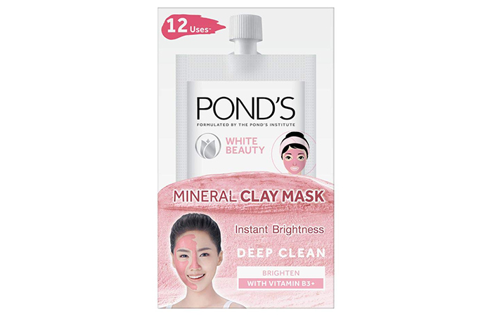 Pond's White Beauty Mineral Clay Mask