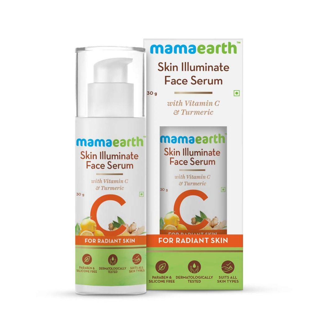 Best Serum For Pigmentation Mamaearth Skin Illuminate Face Serum With Vitamin C & Turmeric