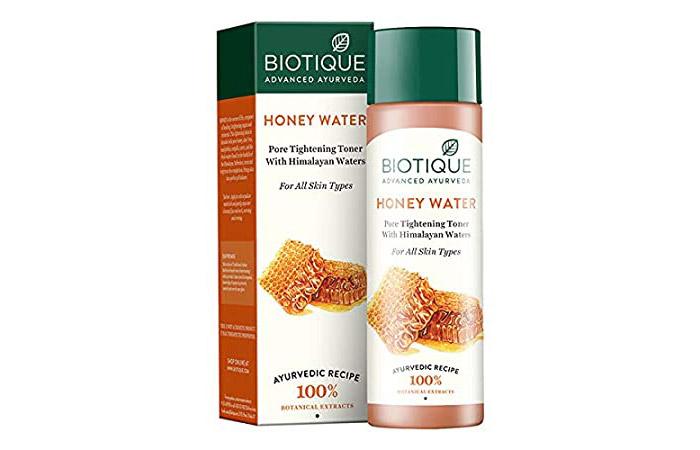 Biotique Honey Water Pore Tightening Toner