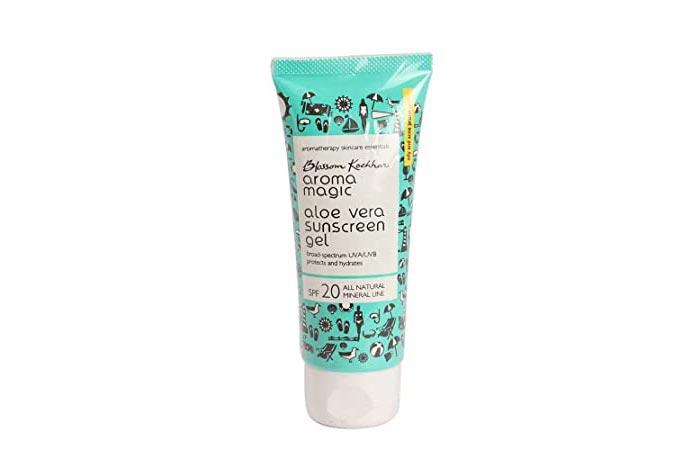 Blossom Kochhar Aroma Magic Aloe Vera Sunscreen Gel SPF 20