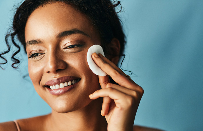 Follow A Daily Cleansing, Toning, And Moisturizing Routine