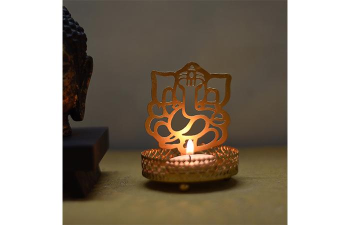Ganesha Light Holder