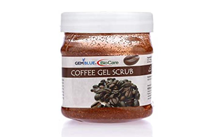 GemBlue BioCare Coffee Gel Scrub