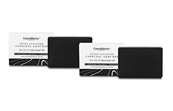 Greenberry Organics Detox Activated Charcoal Soap Bar