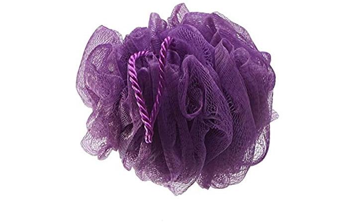 Gubb USA Luxe Sponge Round Loofah – Lilac Purple