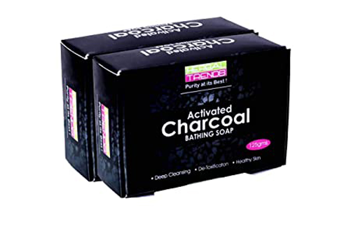 Herbal Trends Activated Charcoal Bathing Soap