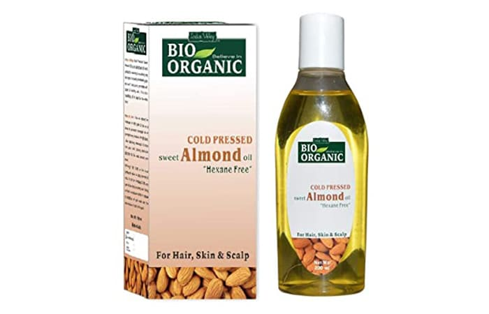 Indus Valley Bio Organic Cold Pressed Sweet Almond Oil