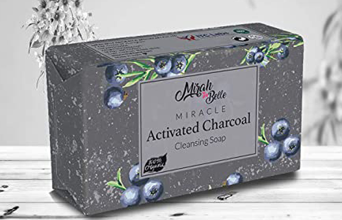 Mirah Belle Miracle Activated Charcoal Cleansing Soap