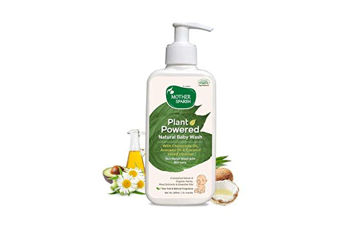 Mother Sparsh Plant Powered Natural Baby Wash