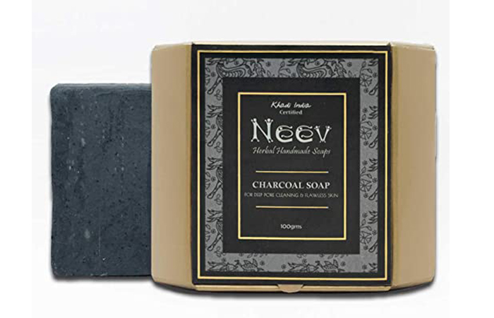 Neev Herbal Handmade Charcoal Soap