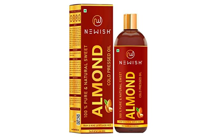 Newish 100% Pure & Natural Sweet Almond Cold Pressed Oil