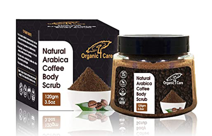 Organic 4 Care Natural Arabica Coffee Body Scrub
